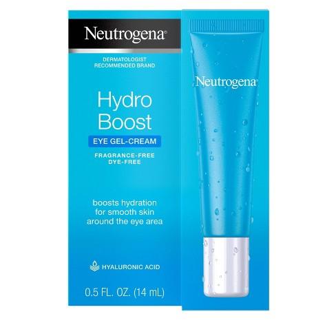 Unscented Neutrogena Hydro Boost Hyaluronic Acid Gel Eye Cream - 0.5 fl oz - image 1 of 4