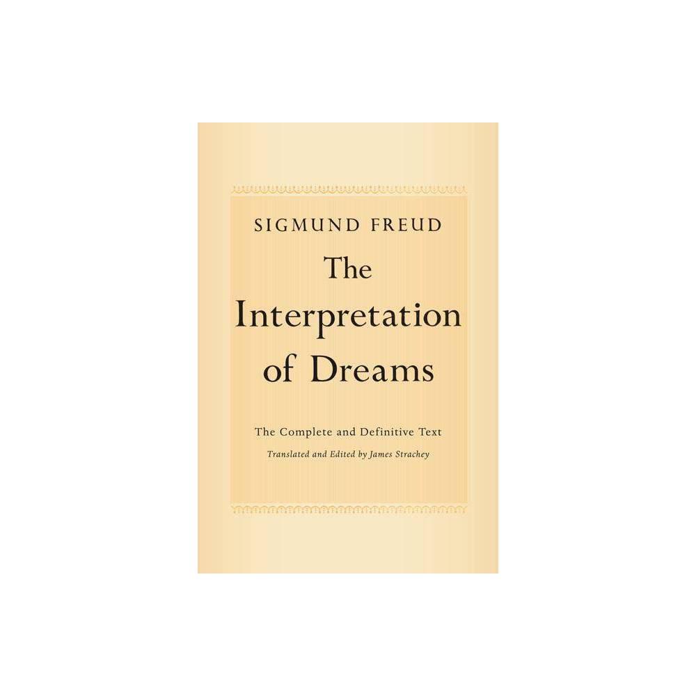 The Interpretation Of Dreams By Sigmund Freud Paperback