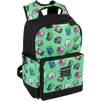 JINX Inc. Minecraft Mini Mobs Cluster 17 Inch Backpack