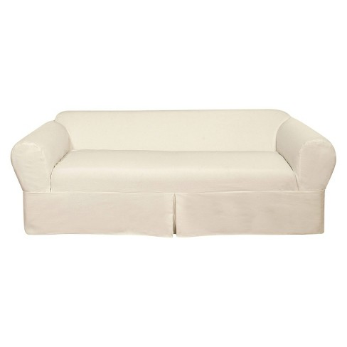 White Wrap Sofa Slipcover