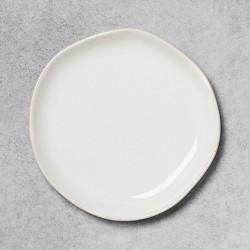 Stoneware Appetizer Plate Sour Cream - Hearth & Hand™ with Magnolia