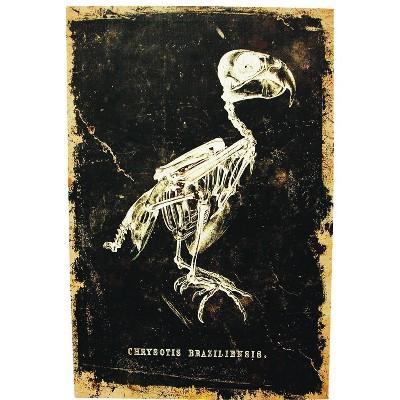 "24"" Halloween Bird Canvas"