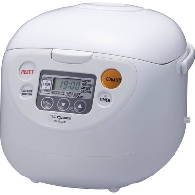 Zojirushi Micom Rice Cooker & Warmer, 10 cups (uncooked), Cool White