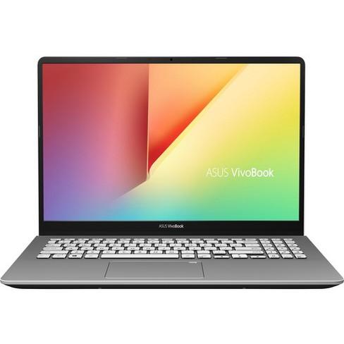 "Asus VivoBook S15 S530FA-DB51 15.6"" Notebook - 1920 x 1080 - Core i5 i5-8265U - 8 GB RAM - 256 GB SSD - Gunmetal - Windows 10 Home 64-bit - image 1 of 4"