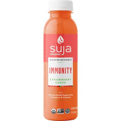 Suja Organic Elevated Nutrients Immunity Strawberry Guava - 12 fl oz