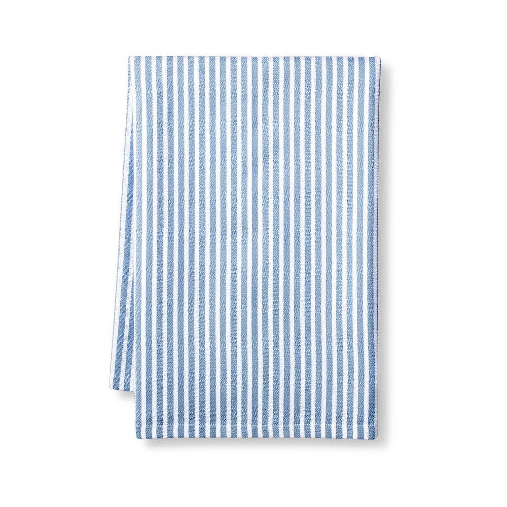 Striped Flour Sack Towel White Blue Levi 39 S 174 X Target