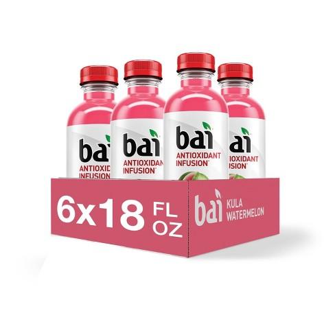 Bai Kula Watermelon Antioxidant Water - 6pk/18 fl oz Bottles - image 1 of 4
