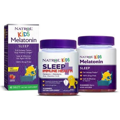 Natrol Kids Melatonin Sleep Aid Collections