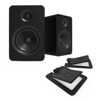 Kanto YUP6 Passive Bookshelf Speakers with S6 Speaker Stands - Pair
