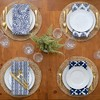 Everyday Casual Prints Assorted Cotton Fabric Napkins Set of 24 - Elrene Home Fashions - image 3 of 4