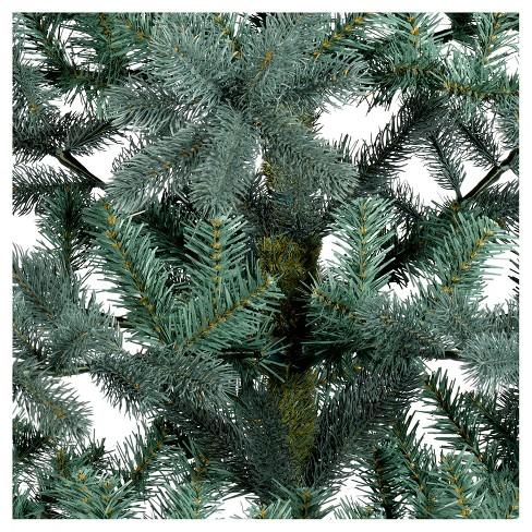 5.5ft Unlit Artificial Christmas Tree Blue/Green Balsam Fir - Wondershop™ - 5.5ft Unlit Artificial Christmas Tree Blue/Green... : Target