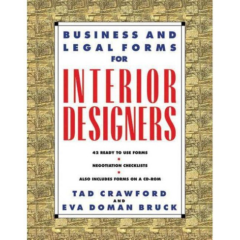 Business and Legal Forms for Interior Designers - by  Eva Doman Bruck & Tad Crawford - image 1 of 1