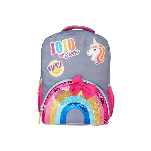 "JoJo Siwa Rainbows End 16"" Kids' Backpack - image 1 of 4"
