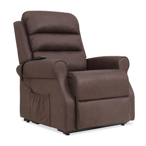 8d6c2a0cfa6 Prolounger Power Recline and Lift Chair Chocolate Brown - Handy Living