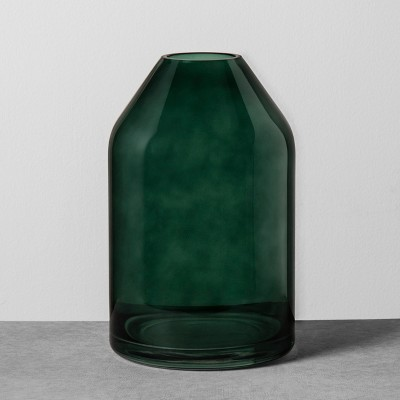 Glass Jug Vase Medium - Green - Hearth & Hand™ with Magnolia