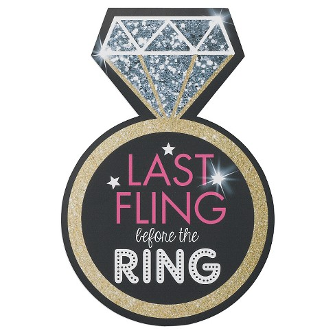 Bachelorette Last Fling Repositionable Cling - image 1 of 1