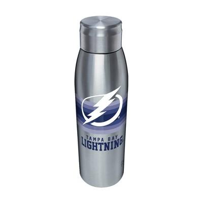NHL Tampa Bay Lightning 17oz Retro Stripe Stainless Water Bottle