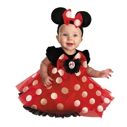 Girls' Disney Red Minnie Mouse Baby Costume