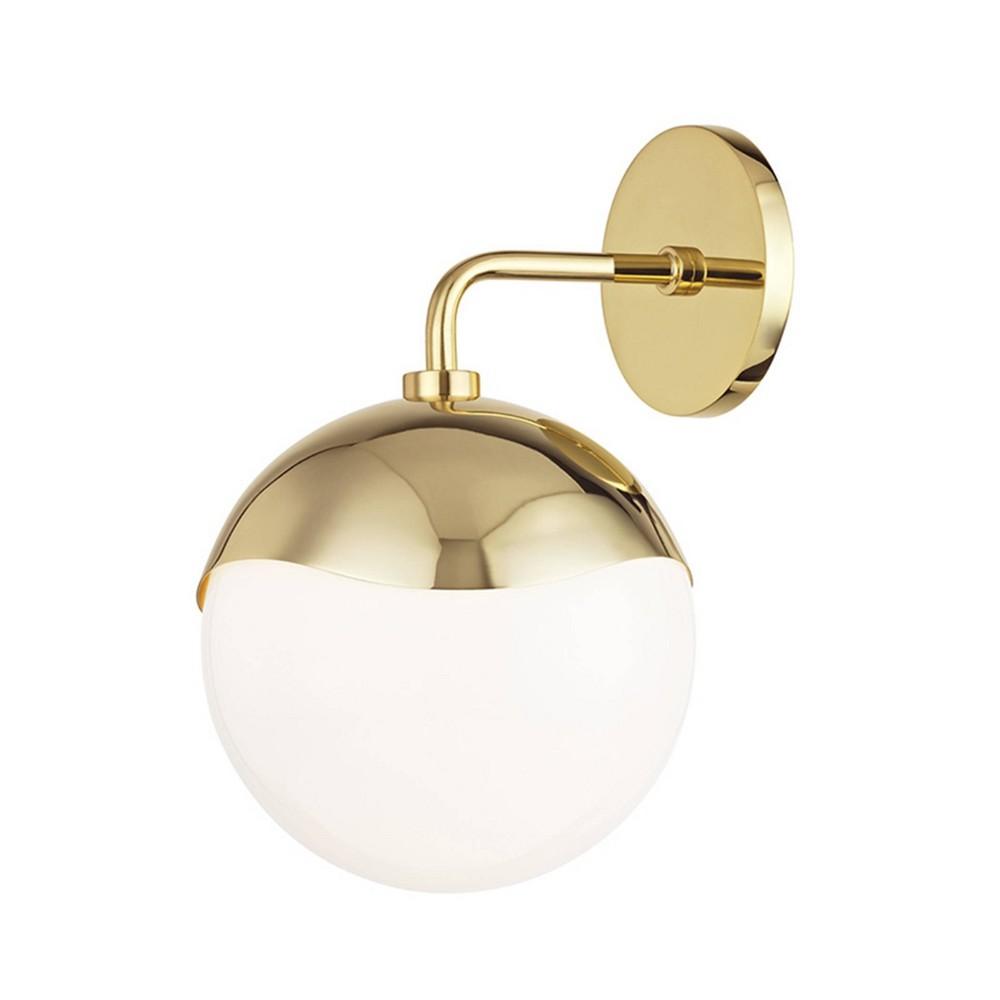 Ella 1-Light Sconce Polished Brass - Mitzi by Hudson Valley Price