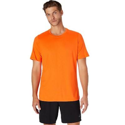 ASICS Men's Short Sleeve Heather Tech Top Training Apparel 2011A620