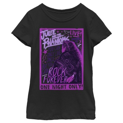 Girl's Julie and the Phantoms Rock Poster T-Shirt