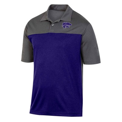 NCAA Kansas State Wildcats Men's Short Sleeve Polo Shirt