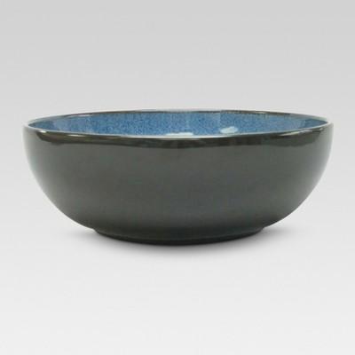Belmont Serving Bowl 10.7in Stoneware Blue - Threshold™