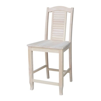 """24"""" Seaside Counter Height Barstool - International Concepts"""
