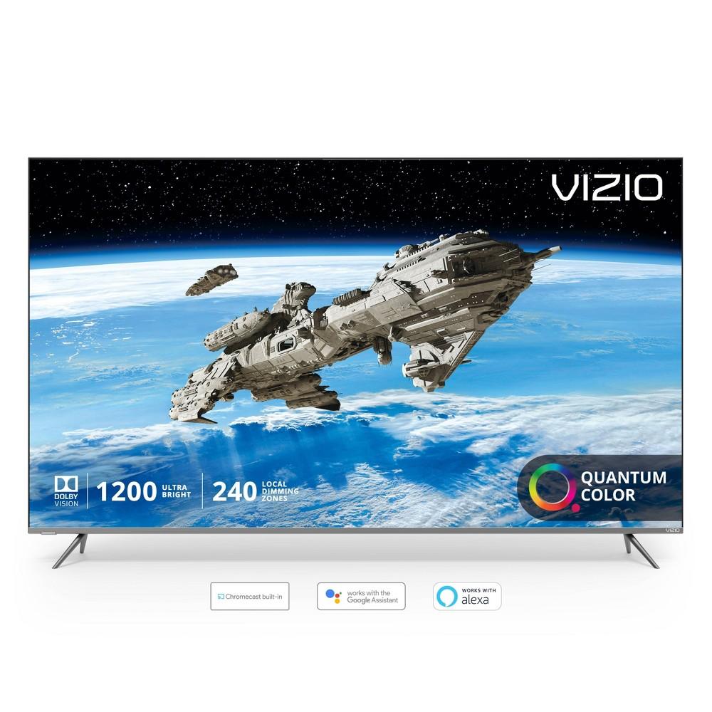 Vizio P-Series Quantum 75  Class (74.5  diag.) 4K Hdr Smart TV Take a quantum leap forward in color, clarity, and contrast with the all-new Vizio P-Series Quantum 75  Class (74.5  diag.) 4K Hdr Smart TV featuring VIZIO's next-generation Quantum Color.