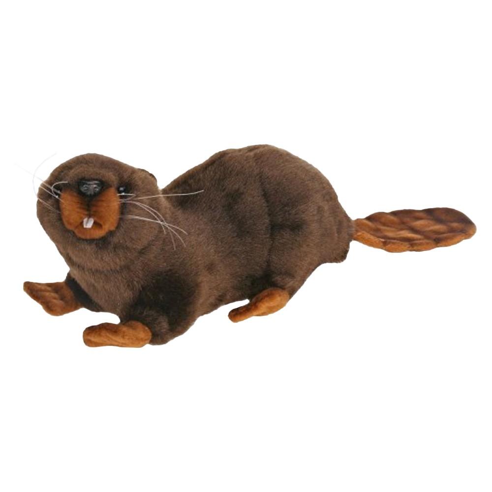 Hansa Mama Beaver Plush Toy