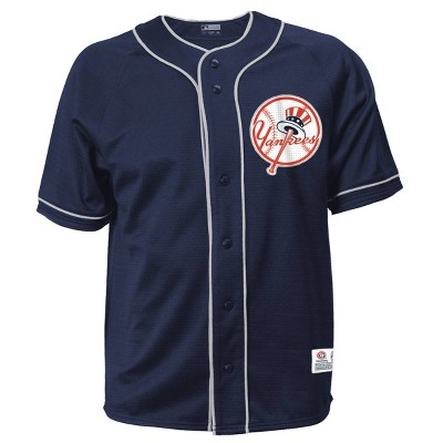 MLB New York Yankees Men's Button-Down Jersey
