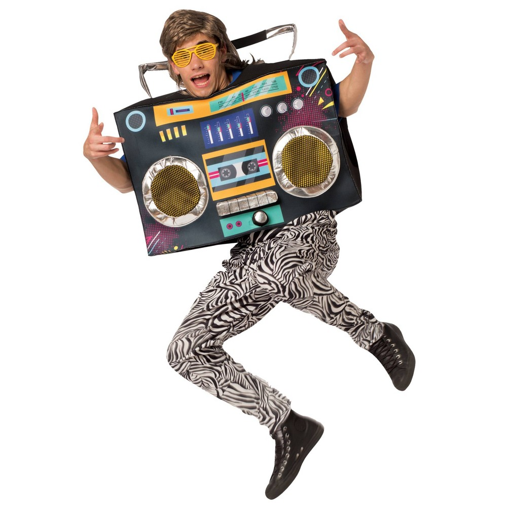 Image of Halloween Adult Boombox Halloween Costume One Size, Adult Unisex, MultiColored