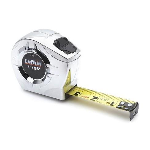 "CRESCENT LUFKIN P2125N 25 ft. P2000 Series Power Return Tape Measure ,1"" Blade, - image 1 of 1"