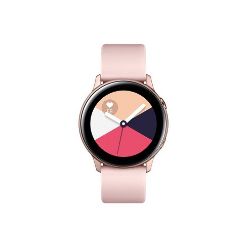 0605424ae41e Samsung Galaxy Watch Active - Rose Gold   Target