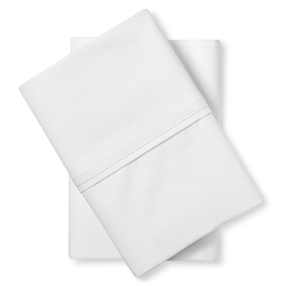 Tencel Pillowcase Set (King) White - Fieldcrest