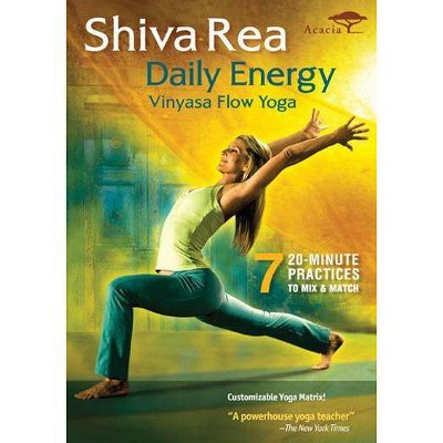 Rea Shiva: Daily Energy Vinyasa Flow Yoga (DVD)