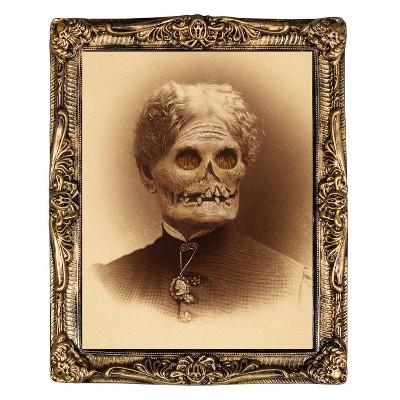 "17"" x 21"" Halloween Aunt Hazel Holographic Portrait"