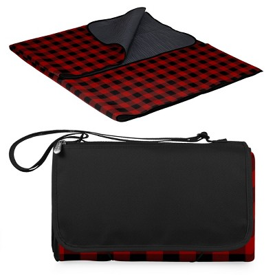 Picnic Time Outdoor Blanket Tote Red - XL