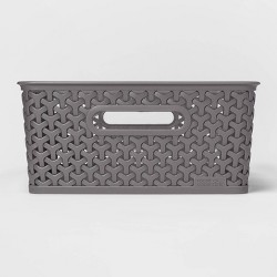 Y-Weave Medium Rectangle Bin - Room Essentials™