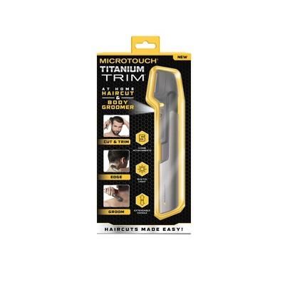 MicroTouch Titanium Trim