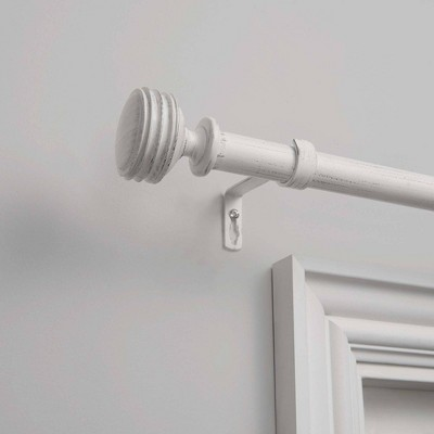 Adjustable Duke Curtain Rod and Coordinating Finial - Exclusive Home