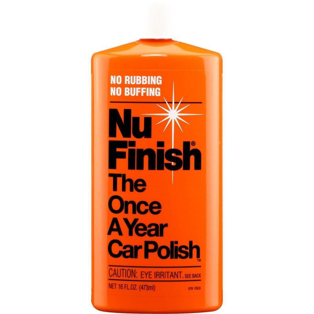 Nu Finish 16oz Car Automotive Polish