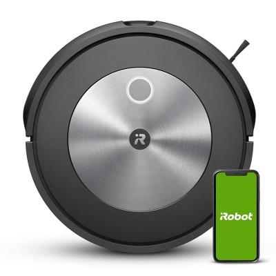 iRobot Roomba j7 Wi-Fi Connected Robot Vacuum - Black - 7150