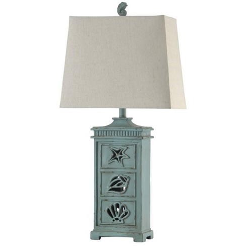 River Crest Table Lamp Deep Water - StyleCraft - image 1 of 1
