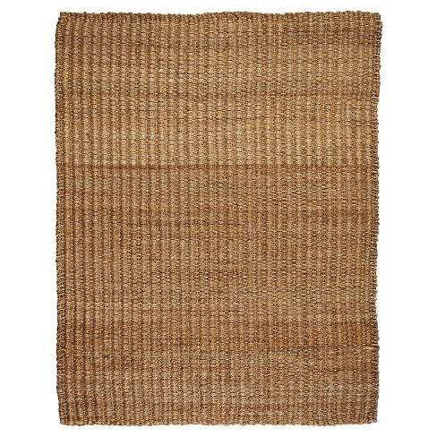 Anji Mountain River Sand Jute/Hemp Area Rug - image 1 of 3
