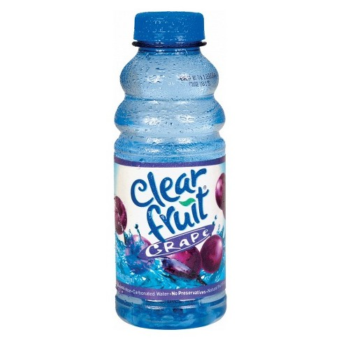 Clearfruit Grape Flavored Water - 20 fl oz Bottle - image 1 of 1