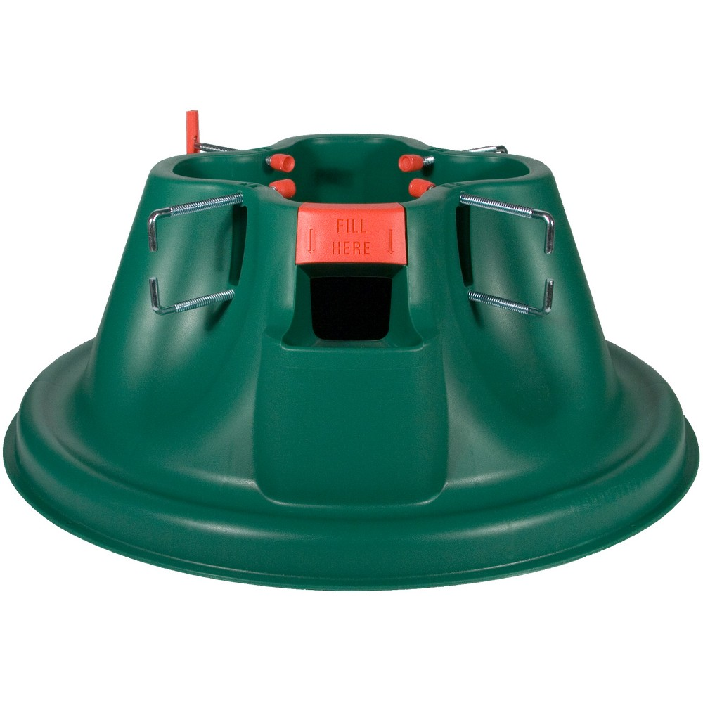 Image of Home Logic 10ft EZ H20 Christmas Tree Stand Green, Multi-Colored