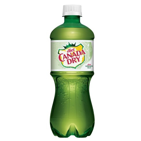 Diet Canada Dry Ginger Ale - 20 fl oz Bottle - image 1 of 2