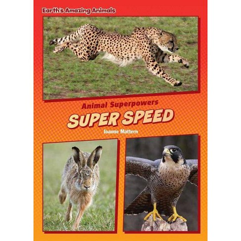 Super Speed - (Core Content Science -- Animal Superpowers) by  Joanne Mattern (Hardcover) - image 1 of 1