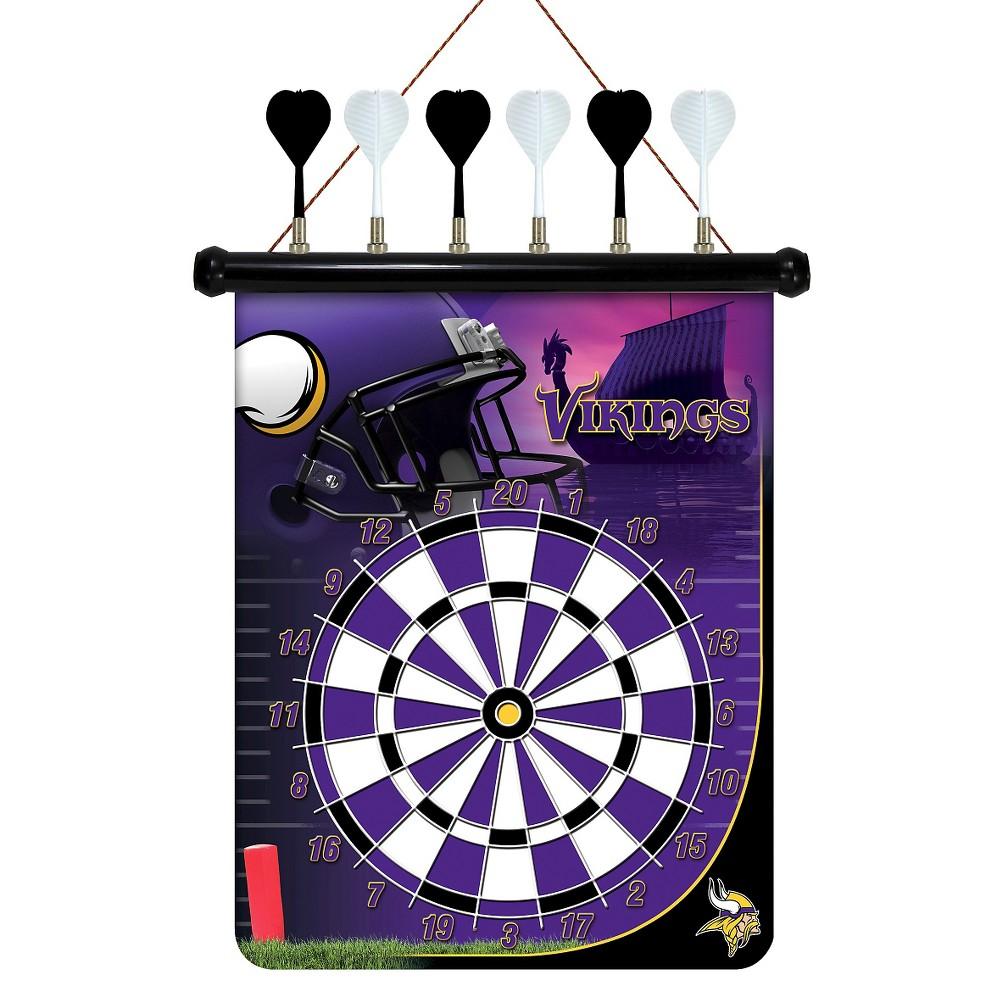 NFL Magnetic Dart Set Minnesota Vikings